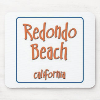 Redondo Beach California BlueBox Mouse Pad