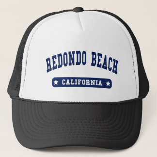 Redondo Beach California College Style tee shirts Trucker Hat