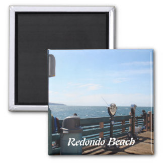 Redondo Beach California Magnet