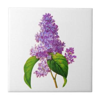 Redoute Lilacs Ceramic Tile
