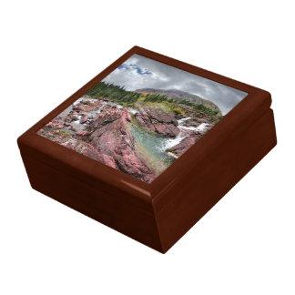 Redrock Falls - Glacier National Park Gift Box