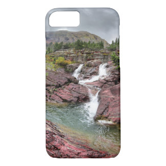 Redrock Falls - Glacier National Park iPhone 8/7 Case