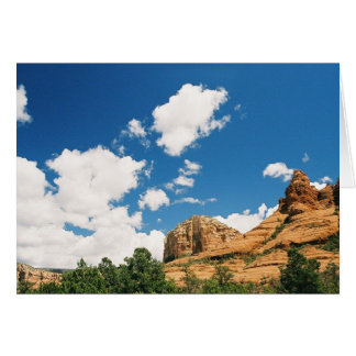 Redrocks in Sedona Arizona Card