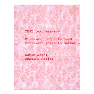 RedRose Bouquet Bubbles  Buy Blank or Customize 21.5 Cm X 28 Cm Flyer
