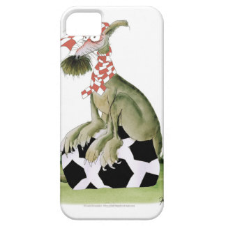 reds soccer dog happy supporter iPhone 5 cover