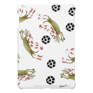 reds soccer dogs iPad mini cover