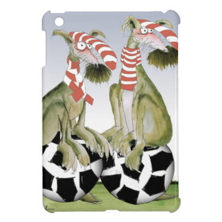 reds soccer dogs when saturday comes iPad mini cover