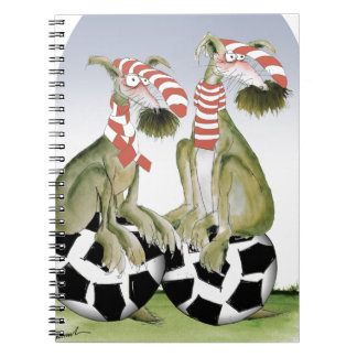 reds soccer dogs when saturday comes spiral notebook