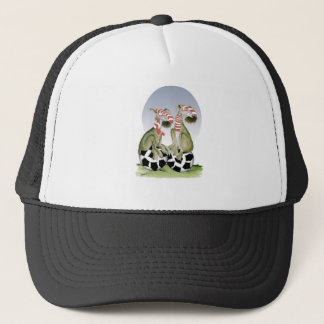 reds soccer dogs when saturday comes trucker hat