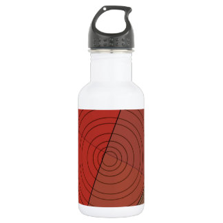 Reds Triangle Circle Design 532 Ml Water Bottle