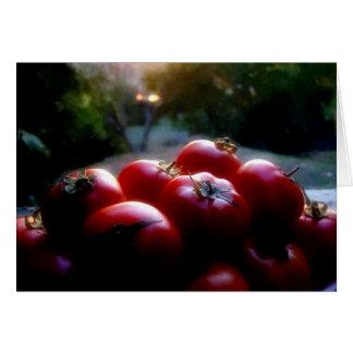 redtomatoes greeting card