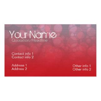 Redtown Business Card