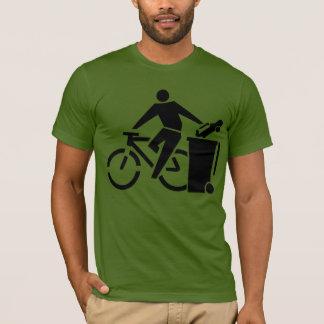 Reduce Air Pollution: Ride A Bike T-Shirt