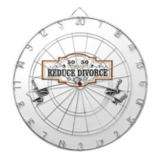 reduce divorce 50 50 custody dartboard