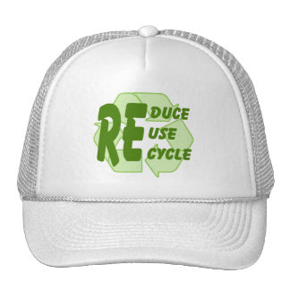 Reduce ReUse Recycle 2 Mesh Hat