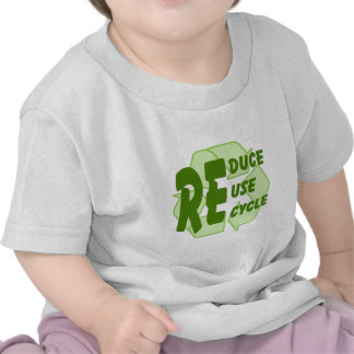 Reduce ReUse Recycle 2 T Shirts