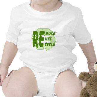 Reduce ReUse Recycle 2 Baby Creeper