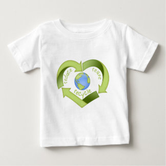 Reduce, Reuse, Recycle Baby T-Shirt