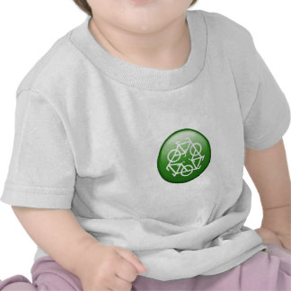 Reduce Reuse Recycle Green Bicycle Shirts