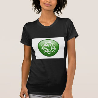 Reduce Reuse Recycle Green Bicycle Tshirts