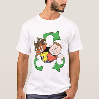 Reduce Reuse Recycle Kids T-Shirt