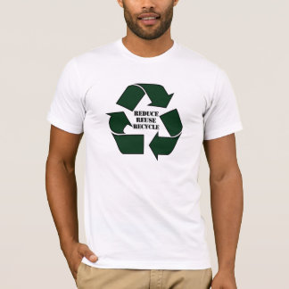 Reduce Reuse Recycle Ladies' Twofer T-Shirt