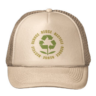 Reduce Reuse Recycle [logo] Trucker Hat