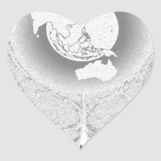 Reduce Reuse Recycle Tee.png Heart Sticker