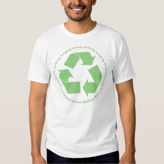 Reduce Reuse Recycle Tshirt