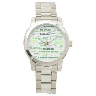 Reduce, Reuse, Recycle Word Cloud Watch