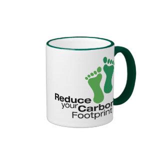 Reduce Your Carbon Footprint Mugs