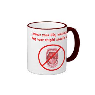 Reduce Your CO2 Emissions Mug