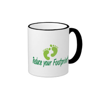 Reduce Your Footprint Coffee Mug