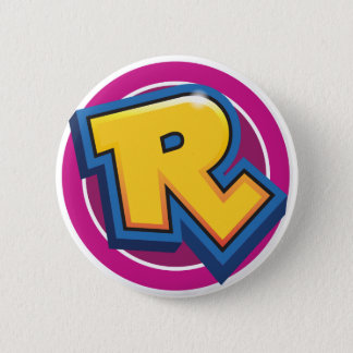 Reduced Break Logo 6 Cm Round Badge