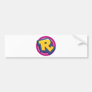 Reduced Break Logo Bumper Sticker