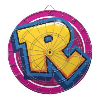 Reduced Break Logo Dartboard