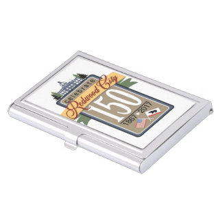 Redwood City 150th Anniversary Business Card Holder