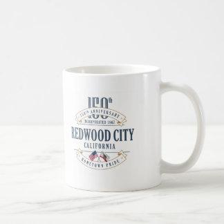 Redwood City, California 150th Anniversary Mug