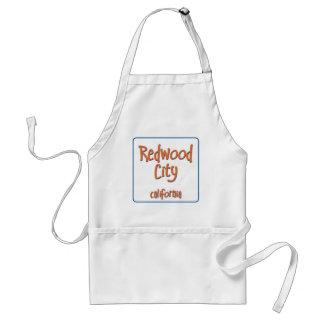 Redwood City California BlueBox Adult Apron