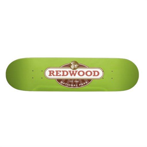 Redwood National Park Skate Deck