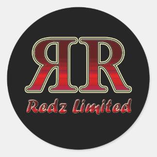 Redz Limited Sticker