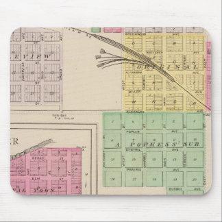 Reece, Fall River, Hamilton, and Climax, Kansas Mouse Pad