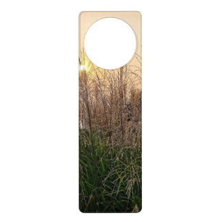 Reed At Sunset Door Hanger