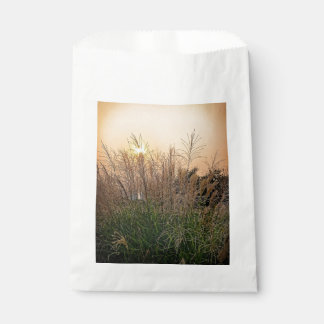 Reed At Sunset Favour Bag
