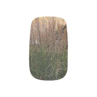 Reed At Sunset Minx Nail Art