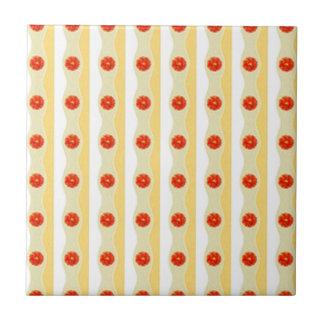 Reed Flowers Design. Decorativ Pattern Tiles