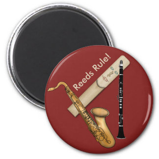 Reed Instruments Rule for Sax and Clarinet Magnet