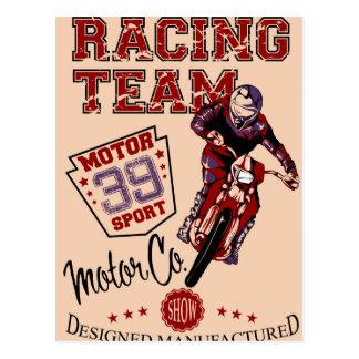 Reed Racing Postcard
