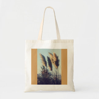 Reeds in the wind tote bag