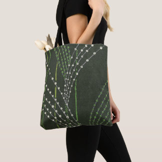 Reeds of Grass Abstract Tote Bag